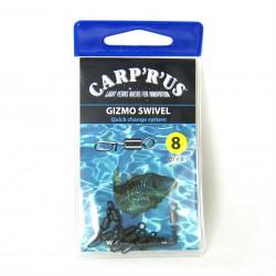 Carp'R'Us Gizmo Quick Change Swivel